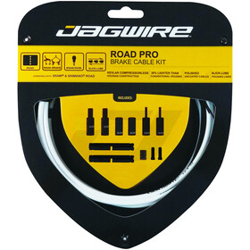 Jagwire Road Pro Brake Cable Kit, white